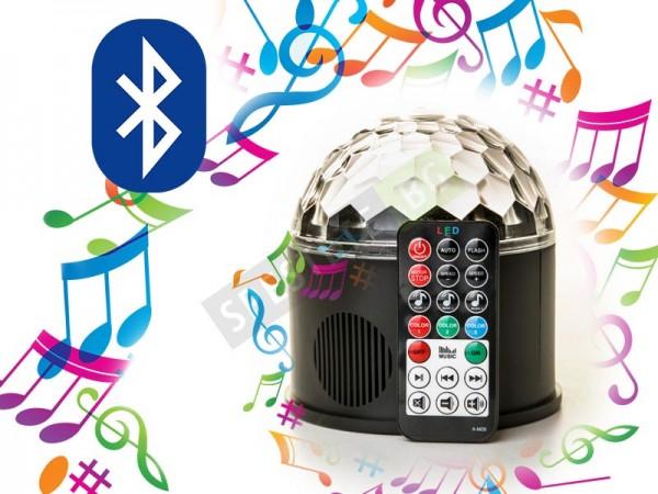 Парти LED лампа с 9 цвята