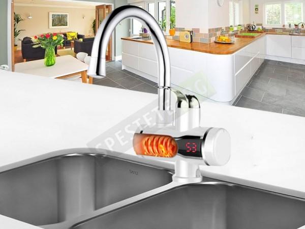 Проточен нагревател и смесител за вода
