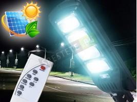 Силна соларна външна лампа