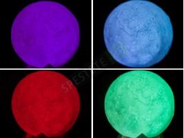 LED лампа луна