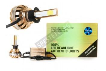 LED луксозни крушки за фарове и халогени