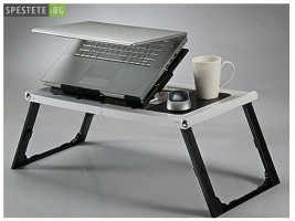 Мултифункционална масичка за лаптоп - Super Table с вентилатор