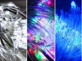 Коледни лампички тип мрежа