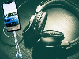 Комбиниран преходник – вход за зарядно и слушалки