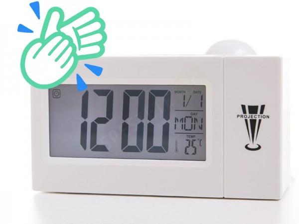 Настолен LCD прожектиращ часовник