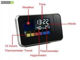 Проектиращ часовник COLOR SCREEN CALENDAR