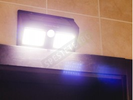 Соларна лампа със сензор за движение