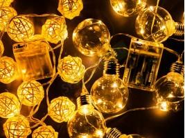 Декоративни LED лампички на батерии