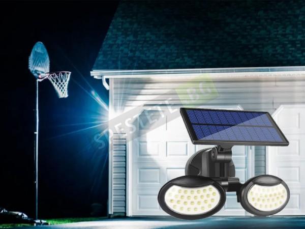Двойна соларна лампа