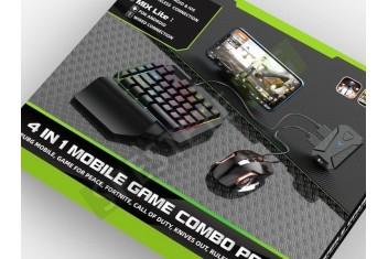 Геймърска мишка и клавиатура за смартфон