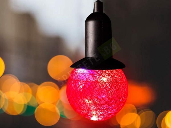 Коледна LED лампа на батерии