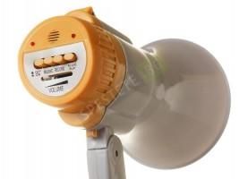 Мегафон със сгъваема дръжка