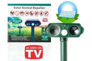Ултразвуков соларен уред против животни