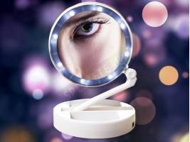 Увеличително огледало с LED светлина