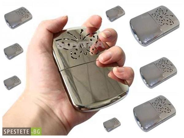 Затоплете се с джобна печка - Handy Warmer