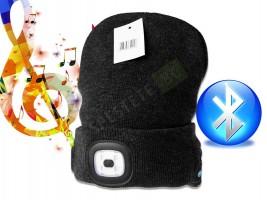 Зимна шапка с bluetooth слушалки