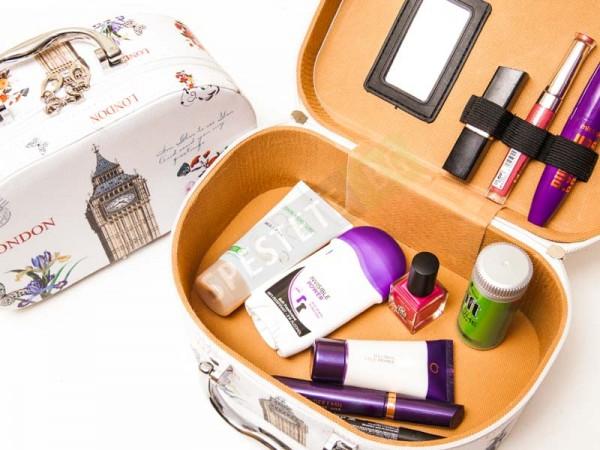 Комплект 3бр. козметични куфарчета