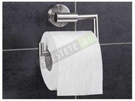 Лепяща поставка за тоалетна хартия