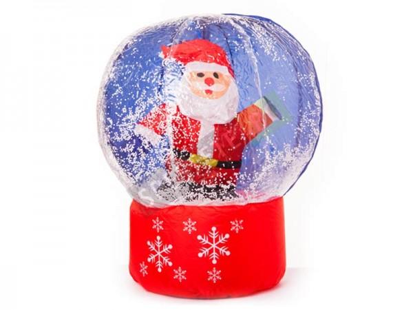 Надуваем снежен глобус Дядо Коледа