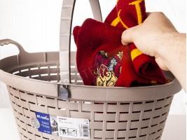 Плетена кошница с удобни дръжки 18Л