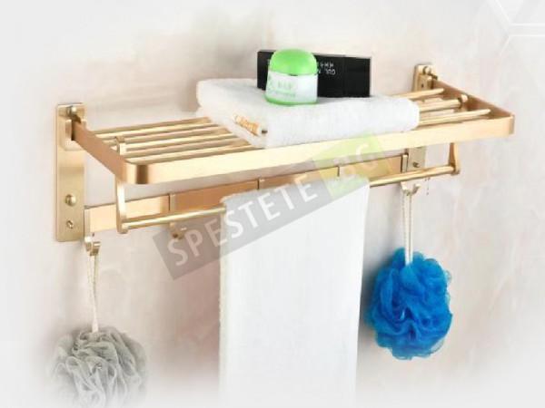 Рафт със закачалка за баня