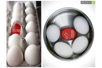 Таймер за варене на яйца с променящи се цветове