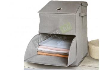 Текстилна кутия с 2 отделения