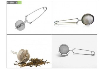 Цедка с дръжка за чай