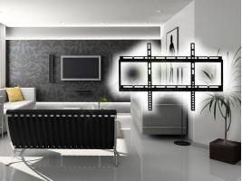 Универсална поставка за телевизори за стена