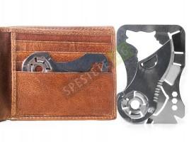 Инструмент 9в1 с формата на кредитна карта