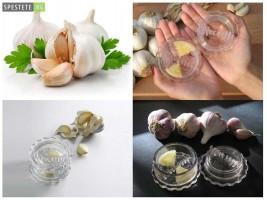 Многофункционална изтисквачка-трошачка за чесън Garlic Twist
