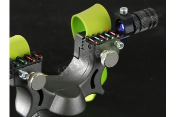 Прашка с лазерен мерник
