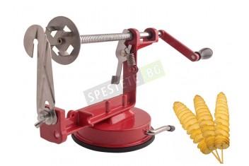 Метална машинка за спираловидно рязане