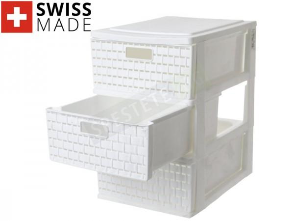 Пластмасов шкаф с 3 чекмеджета