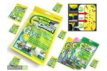 Гел за почистване на труднодостъпни повърхности - Super Clean Gel