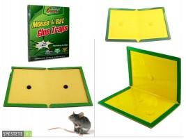 Капан с незасъхващо лепило за мишки и плъхове