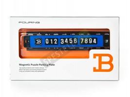 Магнитна табелка с телефонен номер