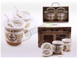 Подаръчен комплект чаши за кафе