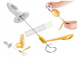 Ръчна машинка за спираловидно рязане