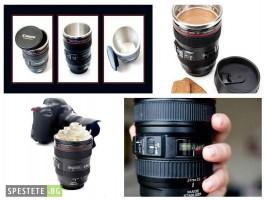 Термос чаша с форма на фотообектив Canon-EF 24-105mm