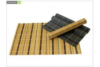 Бамбукова подложка за сервиране