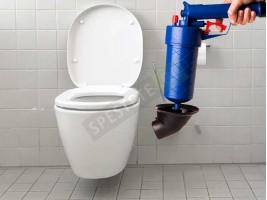Пистолет за отпушване на канали и тоалетни
