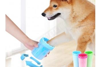 Почистващ уред за лапи на кучета
