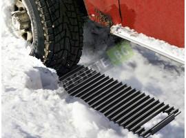 Уред против засядане в снега за автомобили
