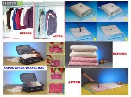 Вакуумни пликове за съхранение на дрехи