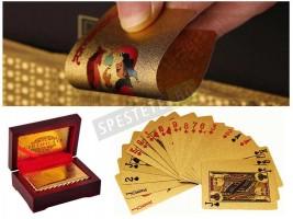 Златно тесте карти за игра
