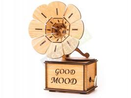 Декоративен дървен грамофон