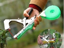 Инструмент за привързване на леторасти