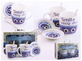 Подаръчен комплект чаши с пожелания