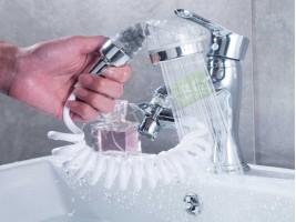 Душ за мивка с гъвкав маркуч